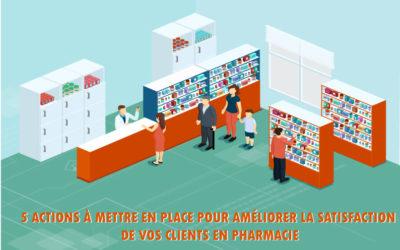 5 actions à mettre en place pour améliorer la satisfaction de vos clients en pharmacie