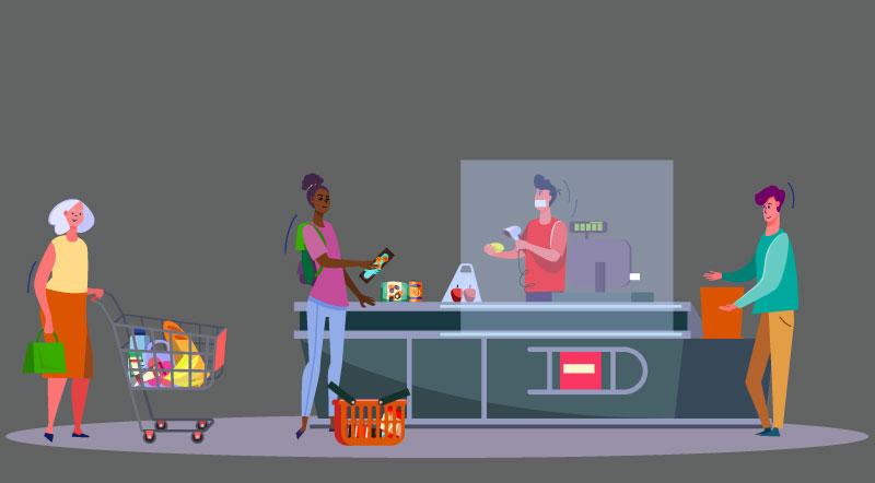 Impact du confinement sur le retail alimentaire